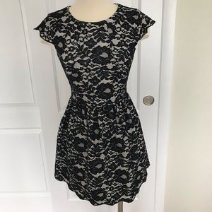 Talula Black and White Belgravia Dress (Aritzia)